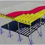 Опалубка  строительная, на телескопических стойках