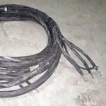 Силовой кабель с наконечниками к станции СПБ 80, 15метров